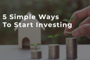 5 Simple Ways to Start Investing